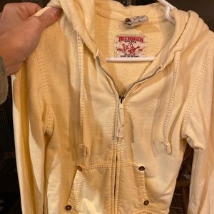True Religion (vintage) short sweatshirt